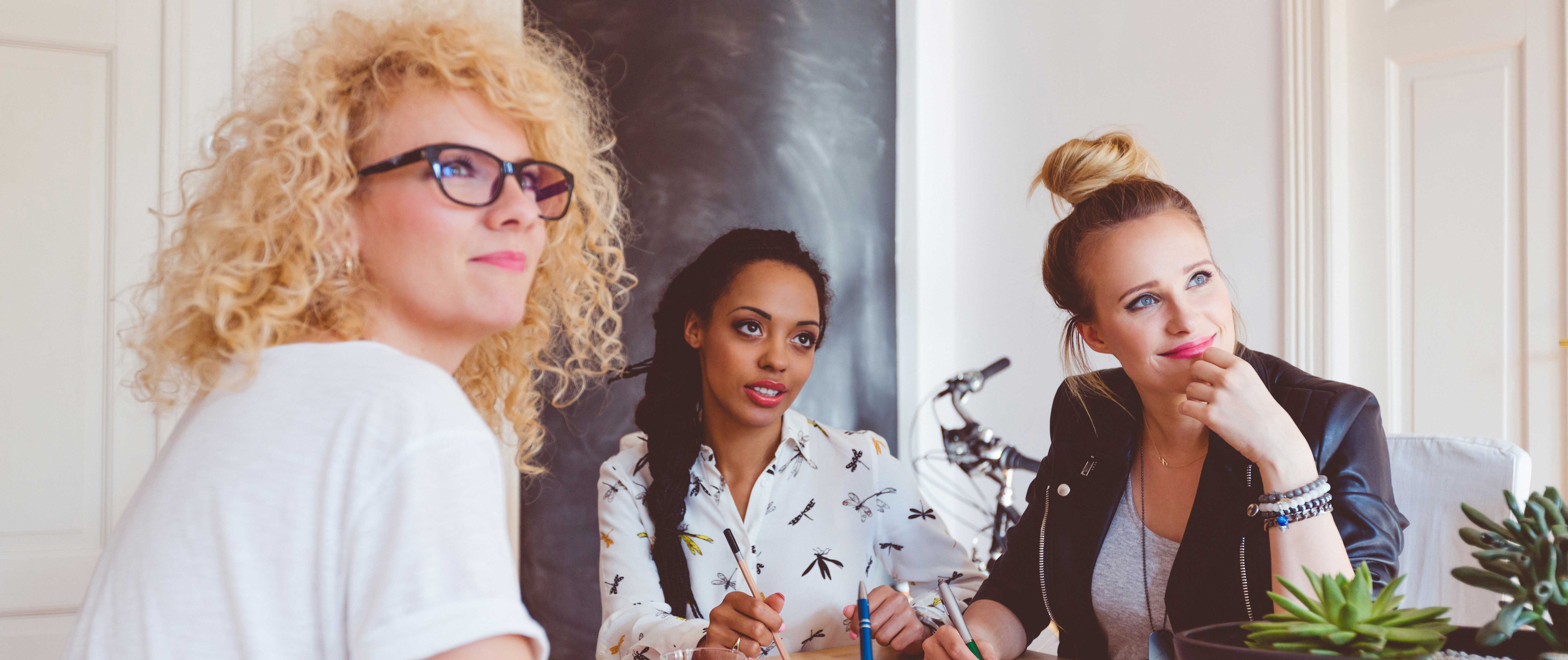 Join us istock photo of 3 women staring, at what... I do not know?